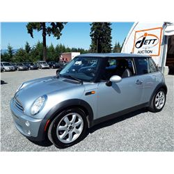C1 --  2006 MINI COOPER , Grey , 173543  KM's