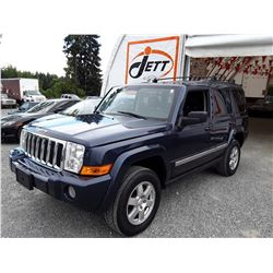 D3 --  2010 JEEP COMMANDER SPORT , Blue , 203109  KM's