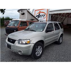 F1 --  2005 FORD ESCAPE , Brown , 291117  KM's