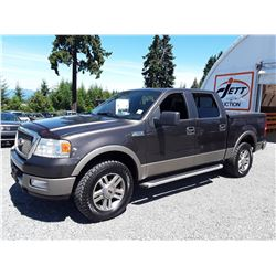F6 --  2005 FORD F150 , Brown , 259902  KM's