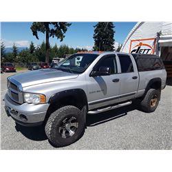 H1 --  2003 DODGE/RAM 3500 CREW CAB , Grey , 307723  KM's