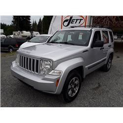 D4 --  2008 JEEP LIBERTY SPORT  , Grey , 150478  KM's