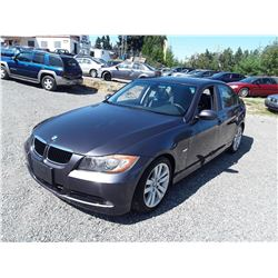 B5 --  2007 BMW 328I , Grey , 196870  KM's