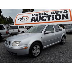 C6 --  2002 VW JETTA GLS , Grey , 195,043 MILES