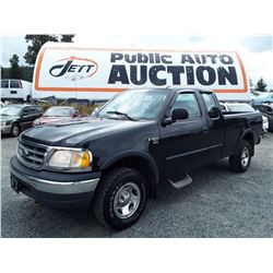 F1 --  2001 FORD F150 , Black , 297012  KM's