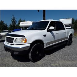 F3 --  2003 FORD F150  , White , 243541  KM's