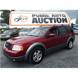 I3 --  2006 FORD FREESTYLE SEL , Red , 223880  KM's