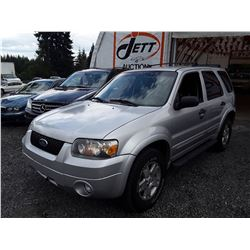 I6 --  2007 FORD ESCAPE XLT , Grey , 199657  KM's