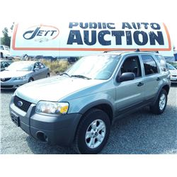 G6 --  2005 FORD ESCAPE XLT , Green , 302994  KM's