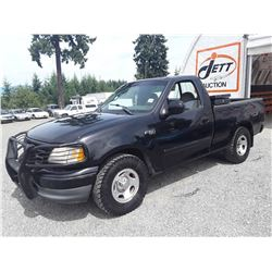 "A9 --  1999 FORD F150 , Black , 238981  KM's ""NO RESERVE"""