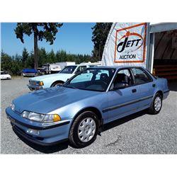 L5 --  1990 ACURA INTEGRA RS , Blue , 189550  KM's
