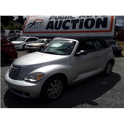 "A8 --  2007 CHRYSLER PT CRUISER , Grey , 74,890 MILES  ""NO RESERVE"""