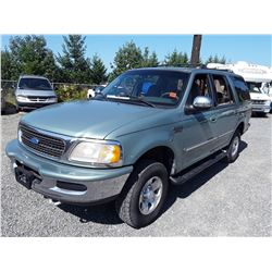 N2 --  1997 FORD EXPEDITION , Green , 261974  KM's