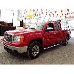 K6 --  2010 GMC 1500 EXT CAB , Red , 282885  KM's