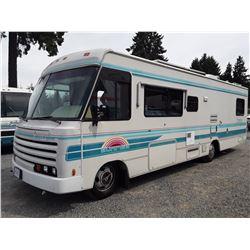 0E --  1992 ITASCA SUNRISE MOTORHOME, , White , 84,426 MILES