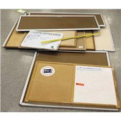 Multiple Misc Whiteboard & Corkboards