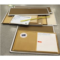 Multiple Misc Whiteboard & Corkboards