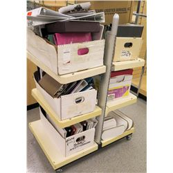 Multiple Misc Office Supplies - Binders, Clipboards, etc