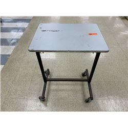 Qty 3 Rolling Shelving Units - 4 Shelf / 3 Shelf / Table on Wheels