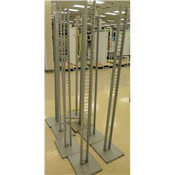 Qty 8 Misc Tall Racks