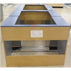 """Qty 4 Pressboard Removable Filler Panels 48""""L x 26""""D x 36""""H"""