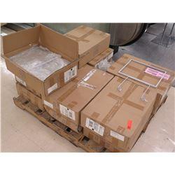 Pallet Multiple Boxes Metal Violator Sign Holders