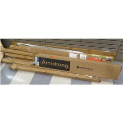 Multiple Armstrong Peak Form & Misc Metal Shelf Rails