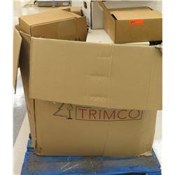Multiple Boxes Metal Rack Parts, Rails, Hangers, etc