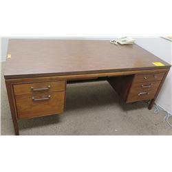 "Wooden Office Desk w/ 5 Drawers 72""L x 36""D x 29""H"