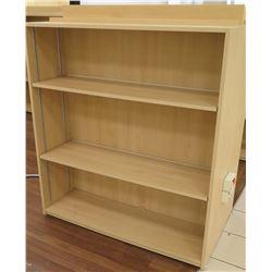 "Wooden 3 Shelf Display Unit 48""L x 29""D x 53""H"