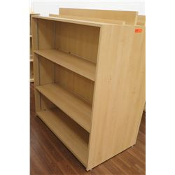 "Wooden 3 Shelf Display Unit 48""L x 29""D x 53""H"
