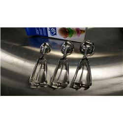 PORTION CONTROL DISHERS SET - SET OF 3