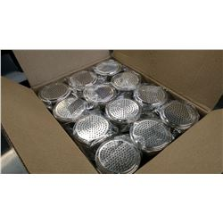 10OZ STAINLESS STEEL DREDGERS - LOT OF 12