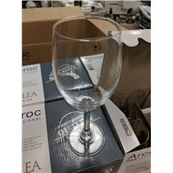 6.25OZ/185ML MALEA WINE GLASSES - (1 CASE/4 BOXES)
