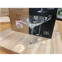 10OZ/300ML CABERNET CHAMPAGNE COUPE GLASSES