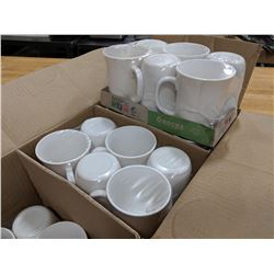 9.75OZ/290ML RECEPTION BONE WHITE MUG-LOT OF 36 (1