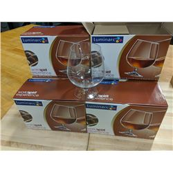 26OZ/770ML BRANDY GLASSES - LOT OF 12 (1 CASE/6 BO