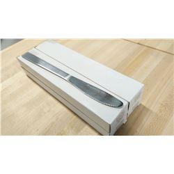 STAINLESS DINNER KNIVES, WINDSOR SERIES - LOT OF 4