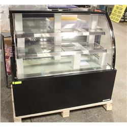 "NEW 47"" CURVED DISPLAY CASE"