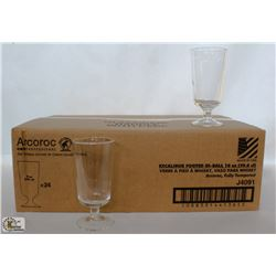 ARCOROC 10 OZ. FOOTED HI-BALL, 1 CASE ARC06