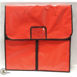 "PIZZA BAG 24""X24""X5"" HOLDS 2X22"" PIZZA"
