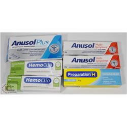 BAG WITH HEMMORDIAL PRODUCTS AND PREPARATION H