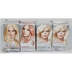 BAG OF ASSORTED LOREAL FERIA HAIR DYE