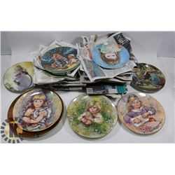 LOT OF 26 ASSORTED COLLECTOR PLATES