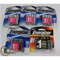 BAG OF ENERGIZER BATTERIES