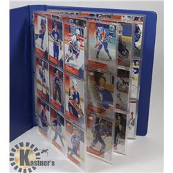 SET OF 90 UPPER DECK EDMONTON OILER 2013 HOCKEY