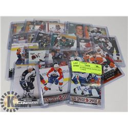 LOT OF 24 UPPER DECK YOUNG GUN HOCKEY CARDS