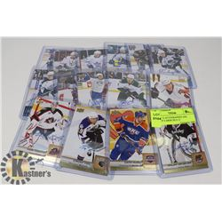 LOT OF 15 AUTOGRAPHED AHL HOCKEY CARDS 2013-15.
