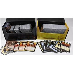 2 BOXES OF MAGIC THE GATHERING CARDS