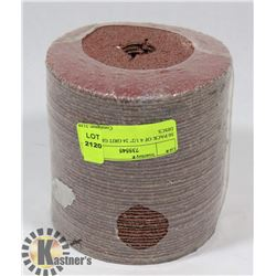 """50 PACK OF 4 1/2"""" 24 GRIT GRINDING DISCS"""